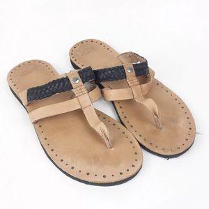 UGG Australia Audra Sandal Light Brown Leather
